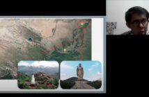 peta Tibet & foto pembicara Stanley Khu