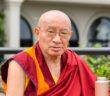 Drepung Tripa Khenzur Rinpoche untuk Liputan Kebajikan dalam Untaian Doa Bagii yang Beruntung
