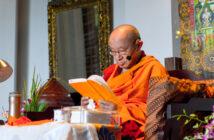 Drepung Tripa Khenzur Rinpoche - Foto untuk Kebajikan dalam Untaian Doa Bagi yang Beruntung 2020