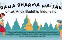 Dana Dharma Waisak untuk Anak Buddhis Indonesia